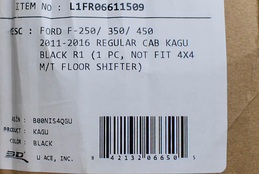 2008 2009 GGBAILEY D4570A-S2B-GY-LP Custom Fit Car Mats for 2007 2010 Saturn Outlook Grey Loop Driver Passenger /& Rear Floor